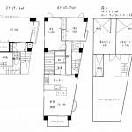 100平米超3LDKにロフト・ルーフバルコニー付きの希少なメゾネットマンション - 千種区大島町1丁目 賃貸マンション