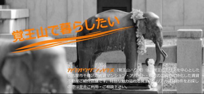 覚王山日泰寺の象の写真